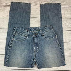 Levi's Denizen 218 Slim Straight Blue Jeans